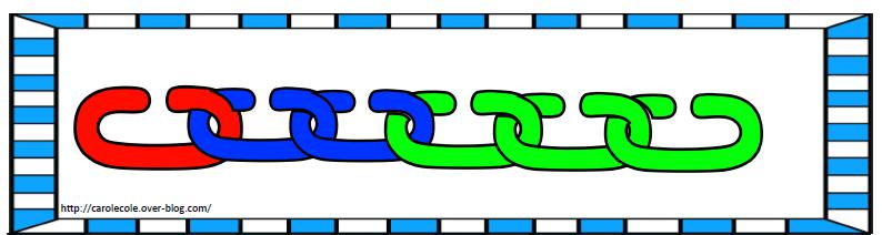 Modèles anneaux de couleur