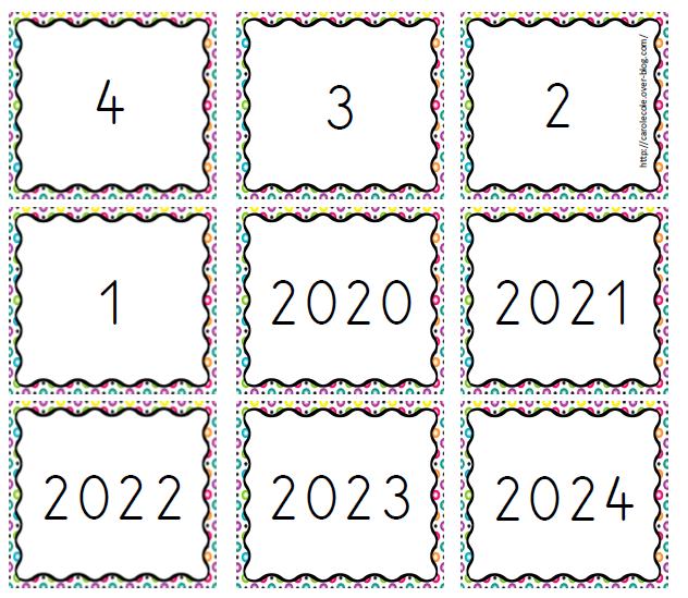 Date, calendrier pour la rentrée 2021