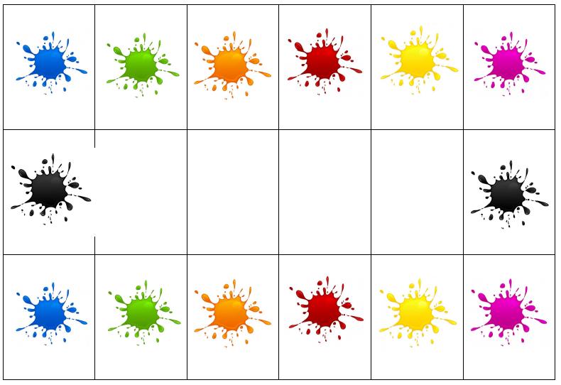 Boites à compter formes / couleurs