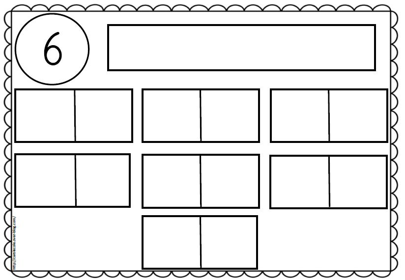 Pour travailler les différentes décompositions des nombres de 1 à 10
