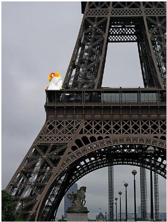 Gaston la licorne voyage..