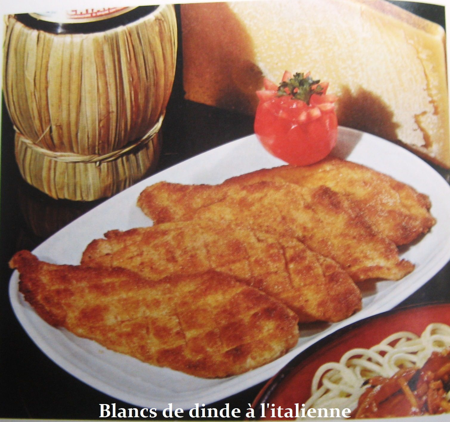 Blancs de dinde à l'italienne