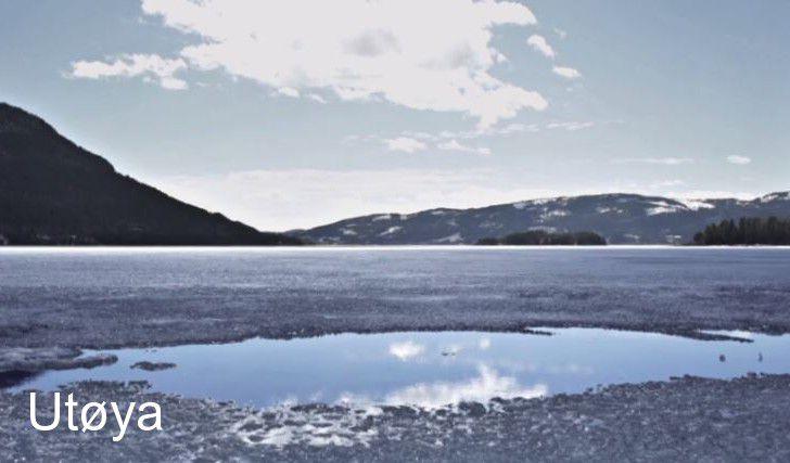 île d'Utoya en Norvège