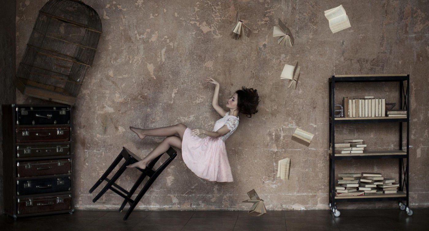 Illustration pour le livre d'Anatasie Liou, En rêve et contre tout