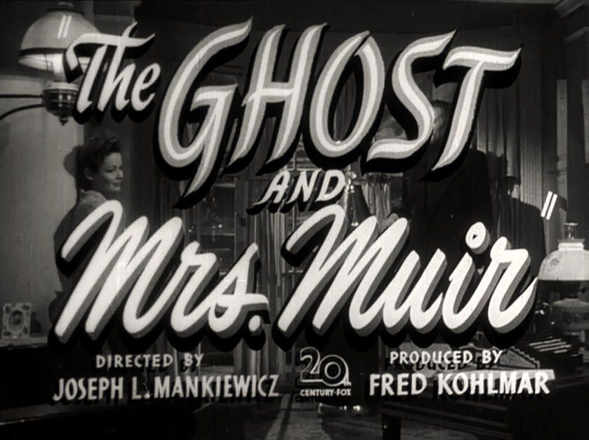 Affiche du film The Ghost and Mrs Muir