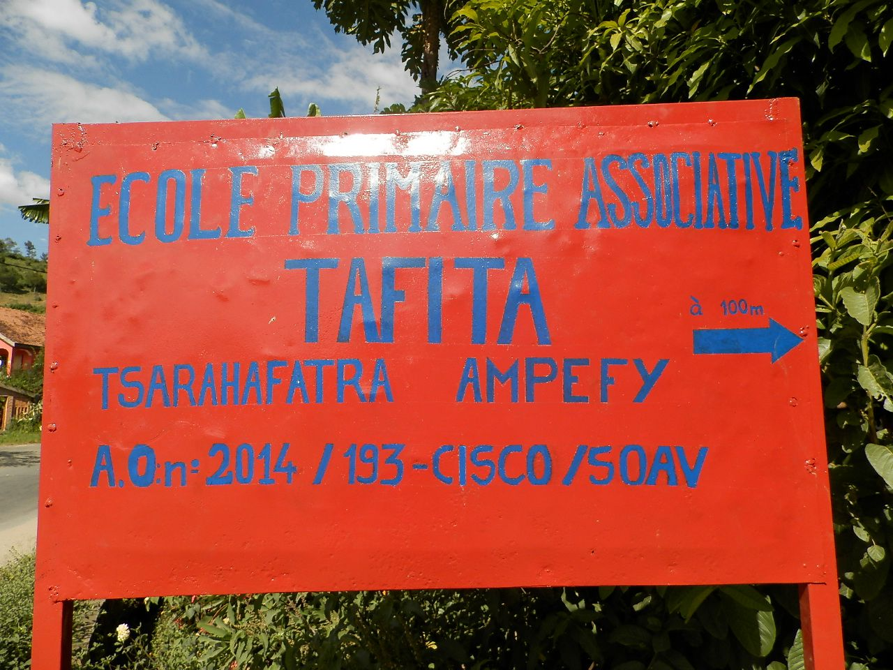 L'Ecole Primaire Associative Tafita