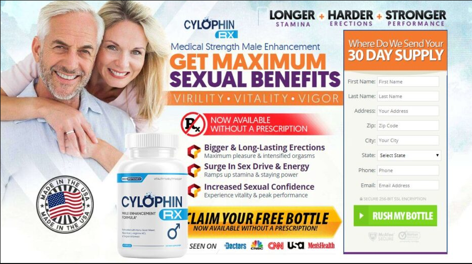 Cylophin RX Male Enhancement