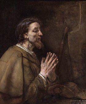 Saint Jacques de Zébédée dit Jacques le Majeur par Rembrandt (1661)