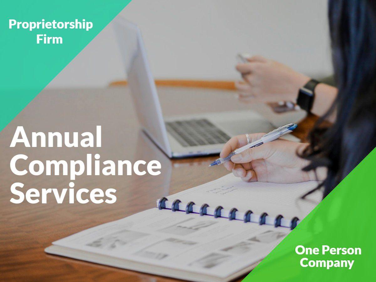 Key Characteristics of a Proprietorship Firm and its Compliance Aspects