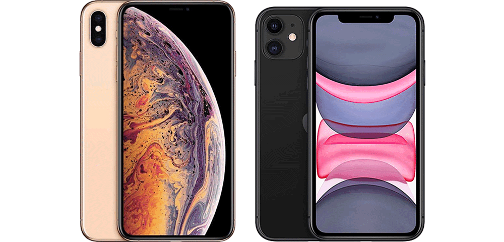 iPhone 11 versus iPhone Xs Max, les differences