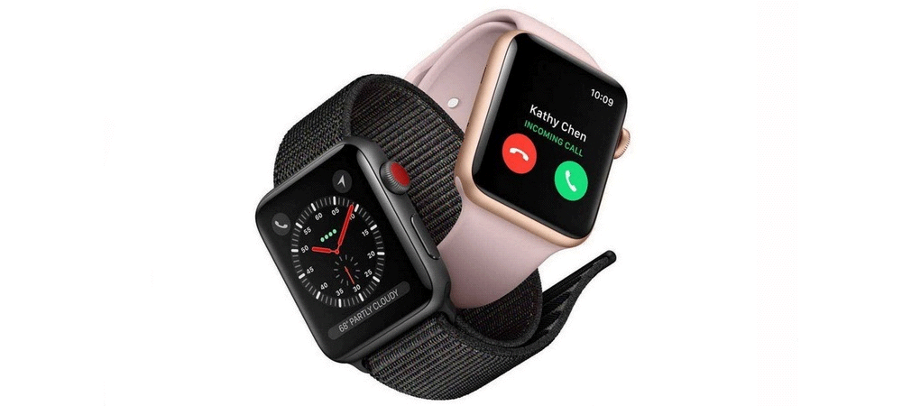 Nouvelle serie Apple Watch