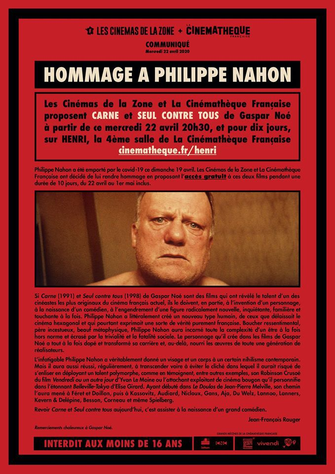 Hommage Philippe Nahon