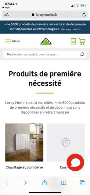 Leroy-Merlin rend accessibles 6000 indispensables