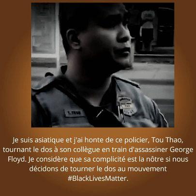 Nous devons soutenir #BlackLivesMatter