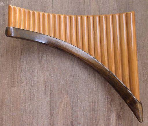 flûte de Pan du luthier moldave Grigore Covaliu