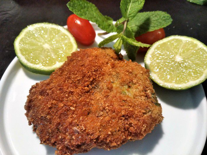 Catless poulet croustillante à déguster bien chaude