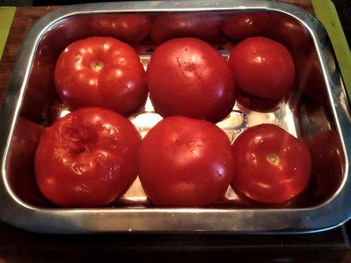 Tomates qui dégorgent leur eau
