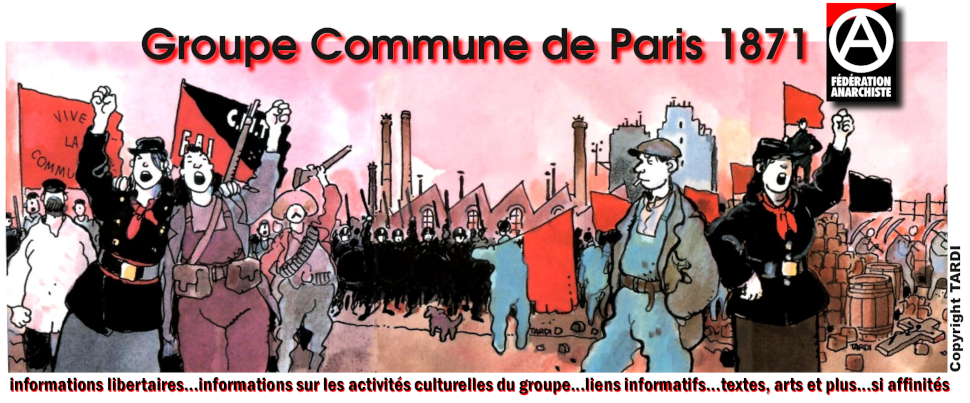 Groupe Commune de Paris de La Fédération Anarchiste