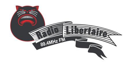 Radio Libertaire 89,4Mhz. La radio sans dieu, sans maître, sans publicité. La voix de la Fédération Anarchiste.