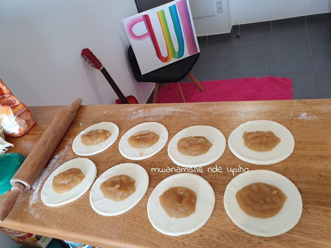 Chaussons aux pommes-vanille