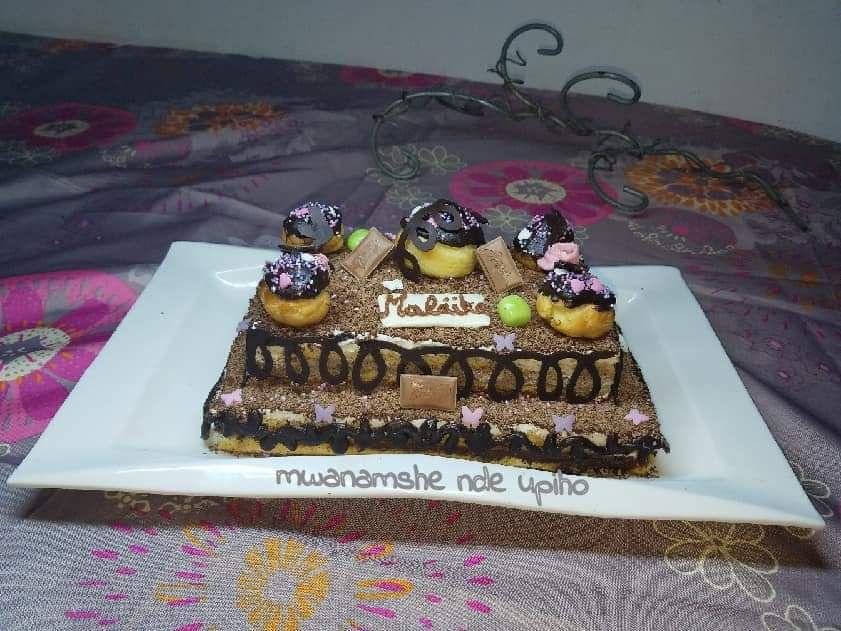 Gâteau d'anniversaire comme un opéra