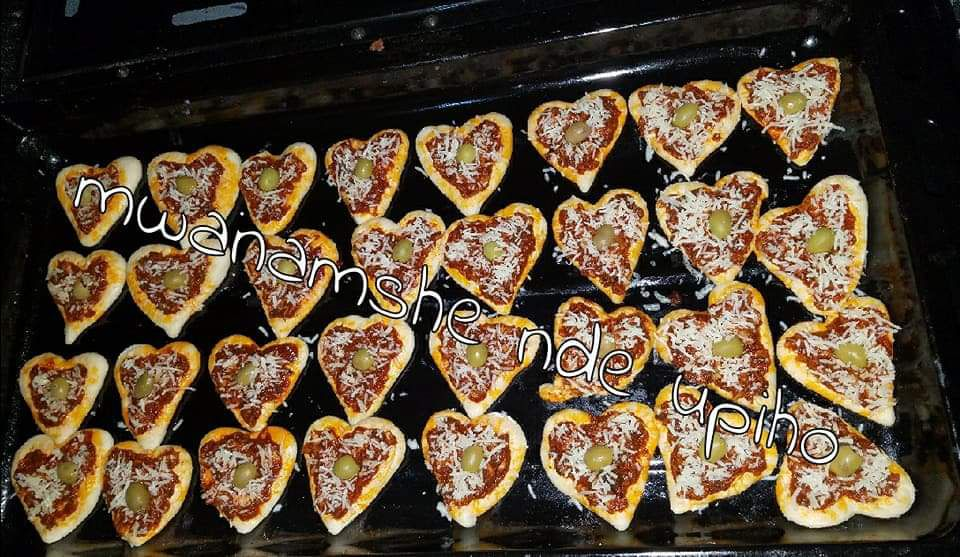 Mini pizza d'amour