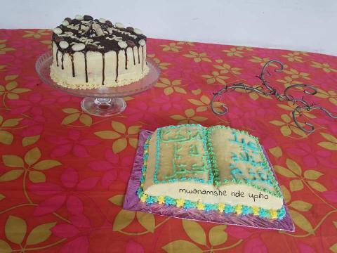 Gâteau livre arabe et drip cake