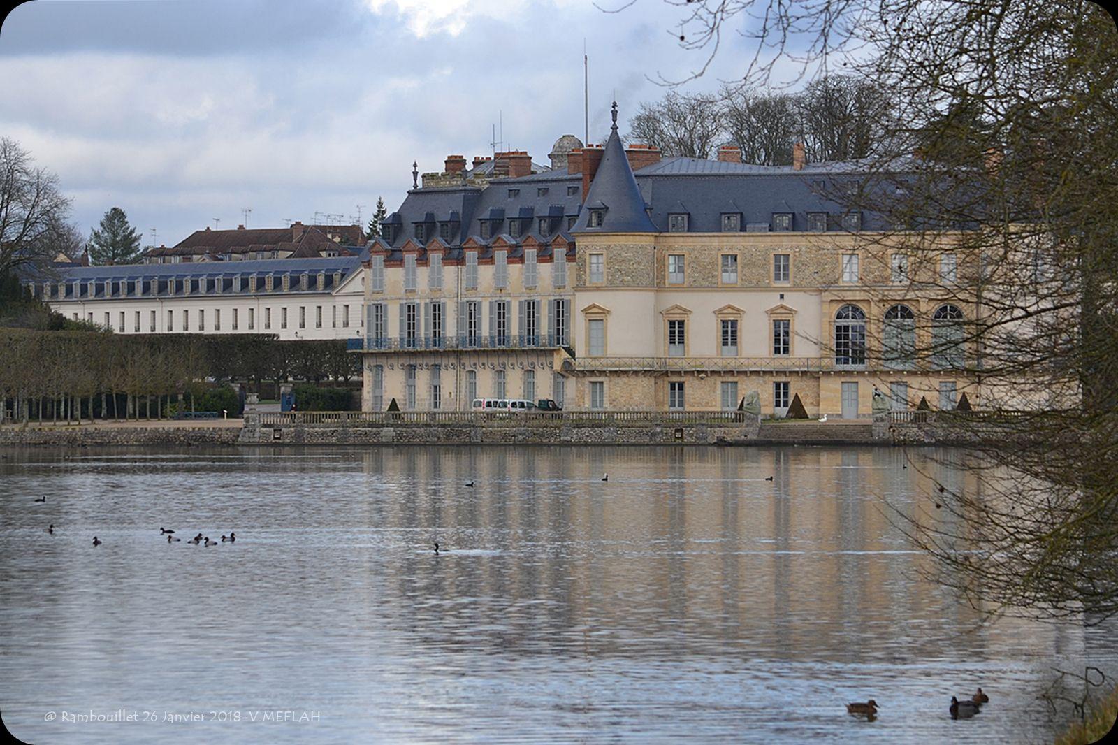 Château de Rambouillet : Avant et après sa restauration