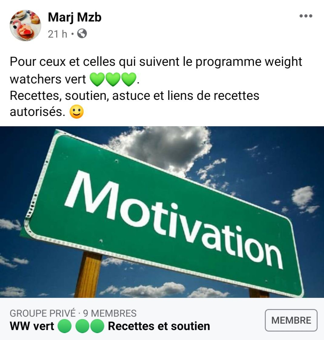 Le programme weight watchers