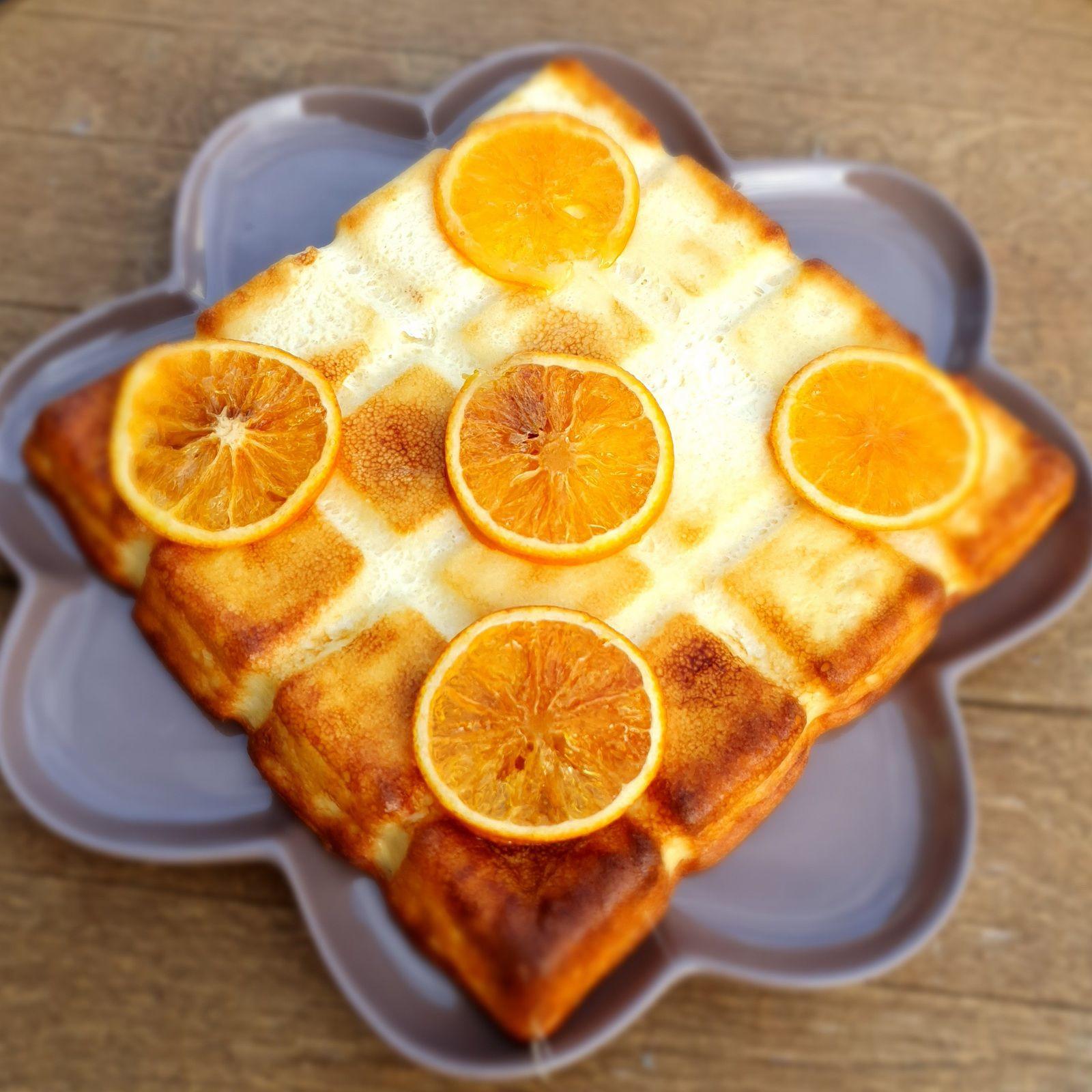 Gâteau au yahourt et à l'extrait d'orange