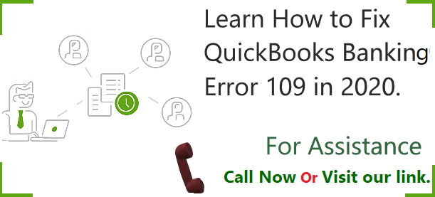 QuickBooks Banking Error 109 - Accounting Concepts