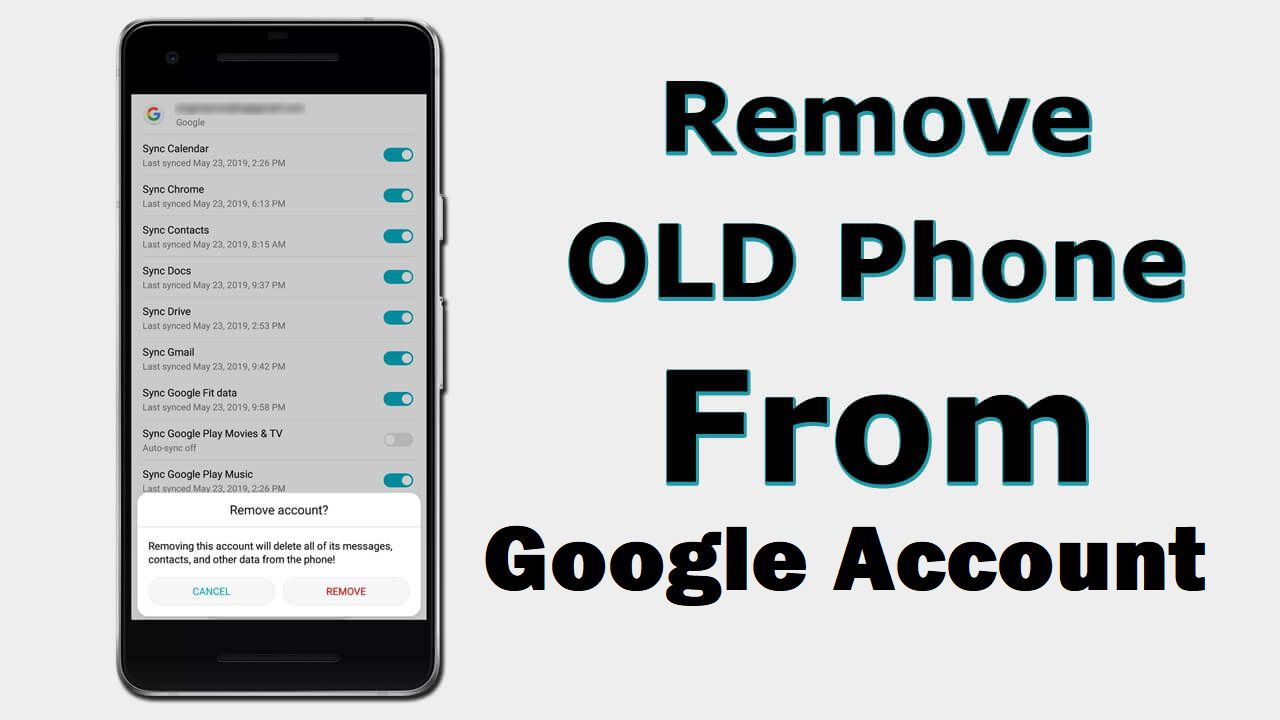 How To Remove Old Phone From Google Account - LearnAside - Learning Ways
