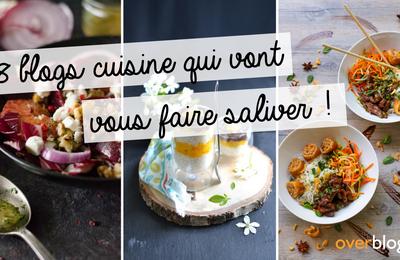 8 blogs cuisine qui vont vous faire saliver !