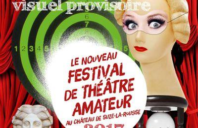 Programmation du festival Théâtre à Suze