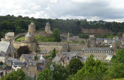 [Patrimoine - Châteaux  des Marches de Bretagne  – Ille-et-Vilaine-Loire Atlantique] De Clisson à Fougères : châteaux en Bretagne