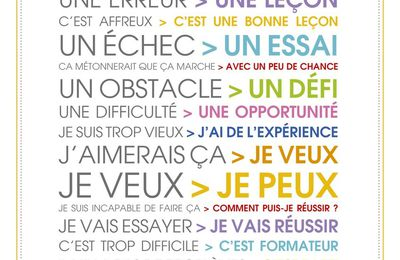 Vision positive du quotidien