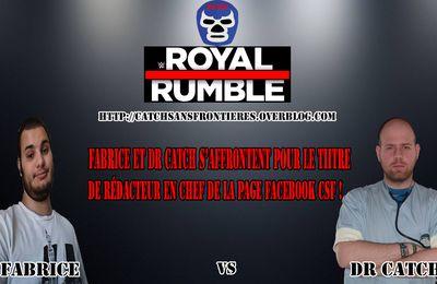 XXXIème Battle des Pronostics : Royal Rumble 2017