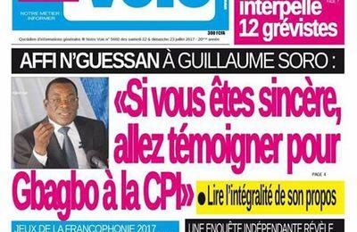 Depuis le 25 aout 2014 Sorrow Guillautine poursuit la Cote d'Ivoire pour se faire pardonner d'elle!!! Elle refuse mais ce voyou insiste! La crise Ivoirienne est spirituelle!