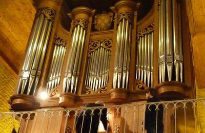 Dimanche 22 octobre  Concert d'orgue à l'Eglise de Mansle