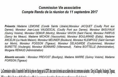 Fin des subventions pour le tennis à Crécy : les élus de l'équipe majoritaire de Crécy absents de la commission, coûtent cher aux Créçois !