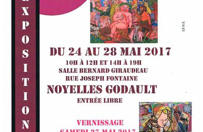 Grande exposition d'arts et creations de NOYELLES-GODAULT avec la participation exceptionnelle de FRANCIS MOREEUW