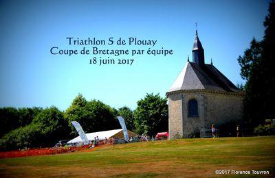 TRIATHLON S DE PLOUAY (COUPE DE BRETAGNE PAR EQUIPE): Compte Rendu