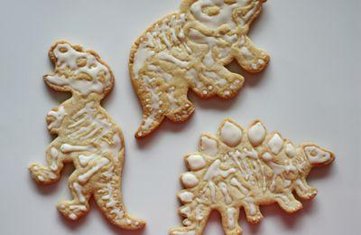 Biscuits dinosaures à la vanille