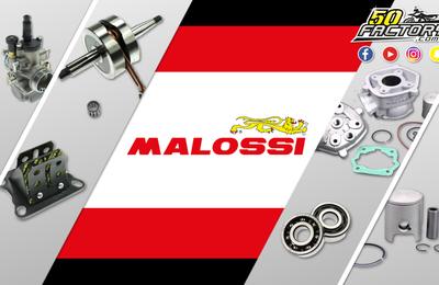 Vos produits de la marque Malossi sont sur 50Factory.com
