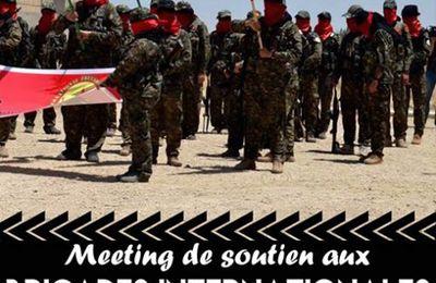 Soutien aux Brigades Internationales de libération du Rojava