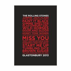 The Rolling Stones live Glastonbury festival 2013, full concert
