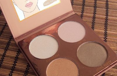 Bronze highlight & glow palette de P.S. (Primark)