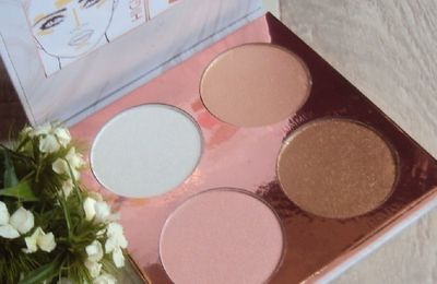 Pure Glow highlighting palette de P.S. (Primark)