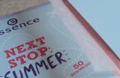 Les papiers matifiants de Essence (coll. Next Stop Summer)