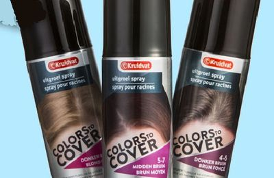 Colors to Cover de Kruidvat, un spray pour camoufler ses racines